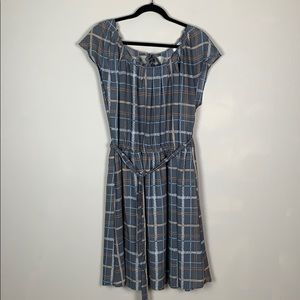 LC Lauren Conrad Plaid Dress